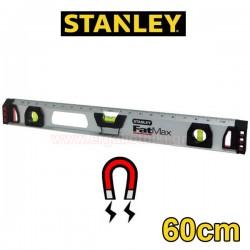 STANLEY 1-43-554 Μαγνητικό αλφάδι αλουμινίου FatMax I Beam 60cm