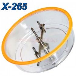 POWER X-265 Ποτηροτρύπανο γυψοσανίδας Φ40-270mm