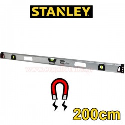 STANLEY 1-43-558 Μαγνητικό αλφάδι αλουμινίου FatMax I Beam 200cm