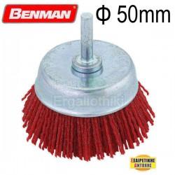 BENMAN TOOLS 74324 Νάυλον βούρτσα δραπάνου Φ50mm