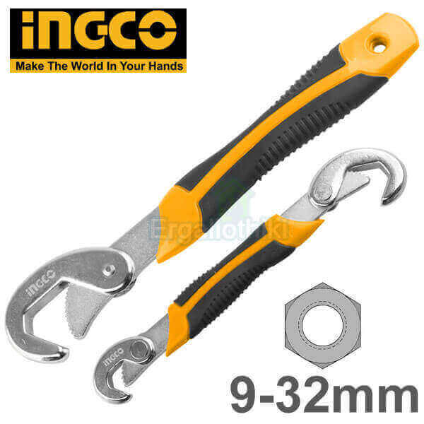 INGCO HBWS110801 Σετ πολύκλειδα 2τεμ