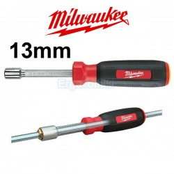 MILWAUKEE 48-22-2537 Hollow core Mαγνητικό κατσαβίδι καρυδάκι 13mm
