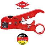 KNIPEX 166006 SB Απογυμνωτής για ομόκεντρα καλώδια