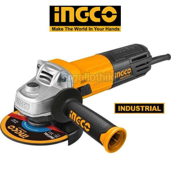 INGCO AG8508 Γωνιακός τροχός Φ115mm