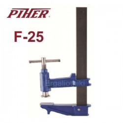 PIHER CLAMP F-25 Επαγγελματικός τηλεσκοπικός σφικτήρας