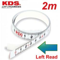 KDS STB13-02BP Μεζούρα αυτοκόλλητη 2m αριστερής ανάγνωσης