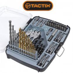 TACTIX 418455 Σειρά τρυπάνια, μύτες
