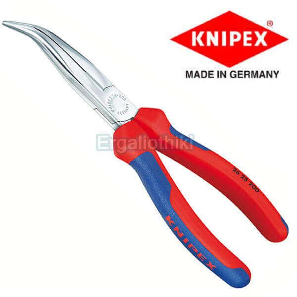KNIPEX 2622200 Μυτοτσίμπιδο κυρτό 200mm