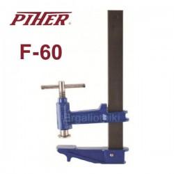 PIHER CLAMP F-60 Επαγγελματικός τηλεσκοπικός σφικτήρας