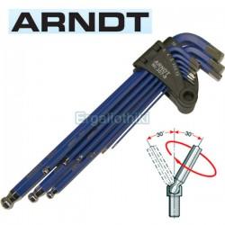 ARNDT 307-9 Σειρά κλειδιά allen μετρικό σύστημα
