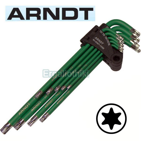 ARNDT 6067-1050 Σειρά κλειδιά TORX