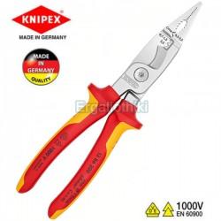 KNIPEX 1386200 Πολυεργαλείο - τσιμπίδα ηλεκτρολογικών εγκαταστάσεων 1000V