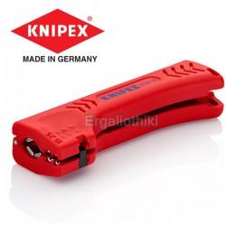 KNIPEX 1690130 SB Απογυμνωτής γενικής χρήσης για καλώδια κτιρίων και βιομηχανικά καλώδια