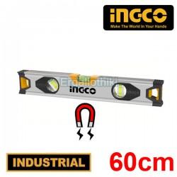 INGCO  HSL38060M Μαγνητικό αλφάδι αλουμινίου 60cm