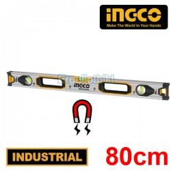 INGCO HSL38080M Μαγνητικό αλφάδι αλουμινίου 80cm