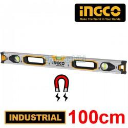 INGCO HSL38100M Μαγνητικό αλφάδι αλουμινίου 100cm