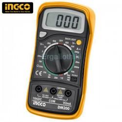 INGCO DM200 Ψηφιακό πολύμετρο
