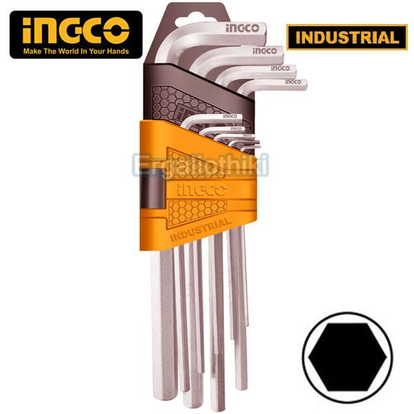 INGCO HHK11091 Σειρά κλειδιά ALLEN