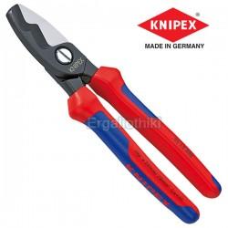 KNIPEX 9512200  Κόφτης καλωδίων με δύο κοπτικές ακμές