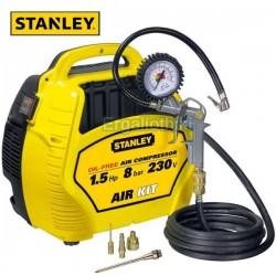 STANLEY AIR KIT 1.5hp Αεροσυμπιεστής συνεχούς ροής 230V (8215190STN595)
