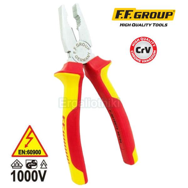 FFGROUP 38193 Πένσα ηλεκτρολόγων 180mm VDE 1000V