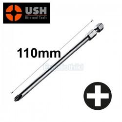 USH PH2x110mm Μύτη βιδολόγου