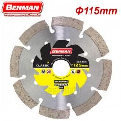 BENMAN TOOLS 74480 Διαμαντόδισκος 115mm UNIVERSAL