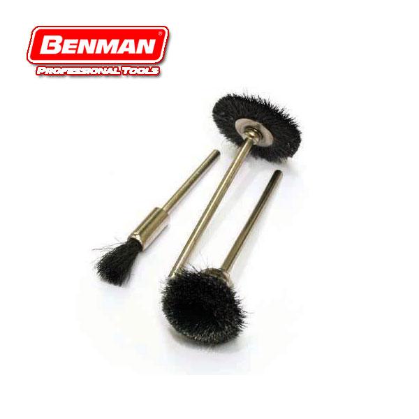 BENMAN TOOLS 74331 Σετ μίνι συρματόβουρτσες