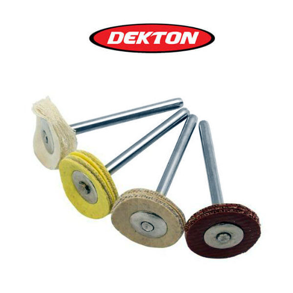 DEKTON DT60917 Σετ μίνι βούρτσες στιλβώματος