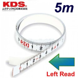 KDS STB13-05 Μεζούρα αυτοκόλλητη 5m αριστερής ανάγνωσης