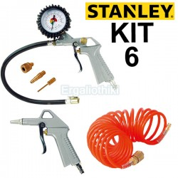 STANLEY 9045717STN Kit 6 Pneumatic Κίτ αέρος 6 τεμαχίων