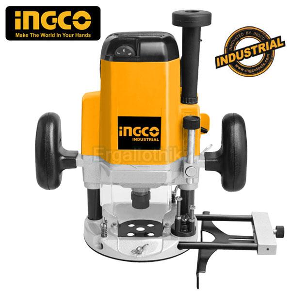 INGCO RT22001 Industrial Φρέζα ξύλου - Ρούτερ
