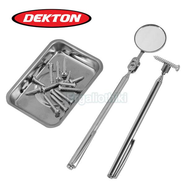 DEKTON DT60730 Σετ μαγνήτης, καθρέπτης και μαγνητικό τασάκι