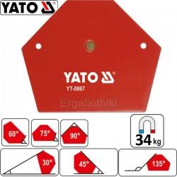 YATO YT-0867 Μαγνητικό όργανο συγκράτησης μετάλλων