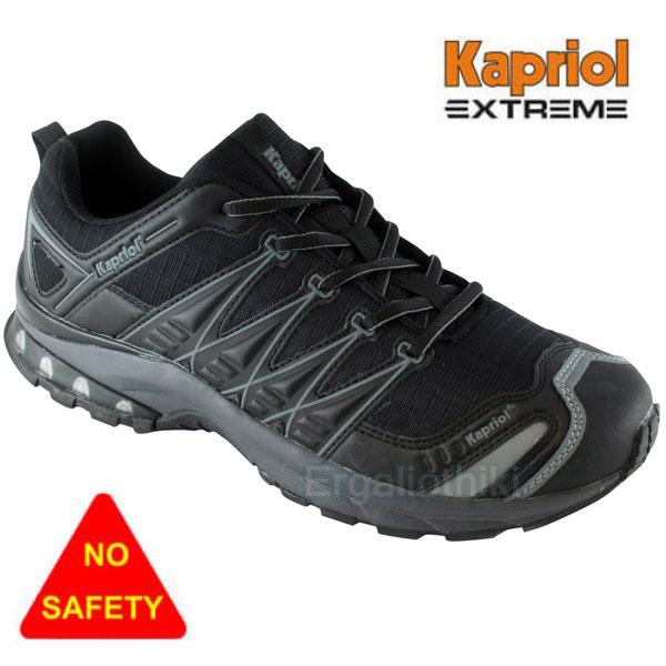 9c0f62f3c66 KAPRIOL NEW RUNNING Μαύρα παπούτσια ελευθέρου χρόνου