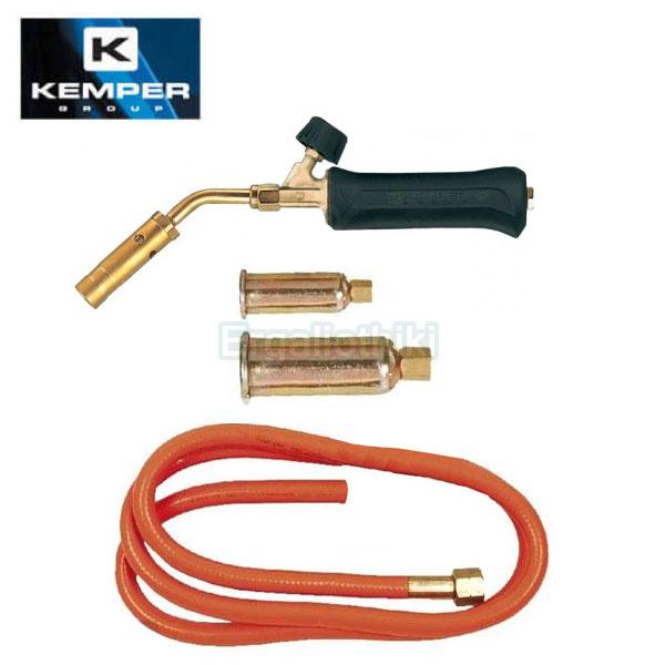 KEMPER 1217T KIT Φλόγιστρο αερίου με μπουρού