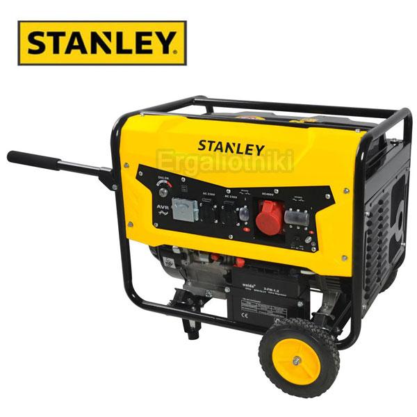 STANLEY SG5600 Γεννήτρια βενζίνης τριφασική 5.6 Kw