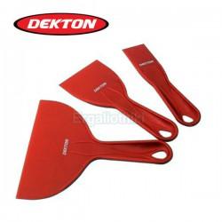 DEKTON DT95892 Σειρά πλαστικές σπάτουλες