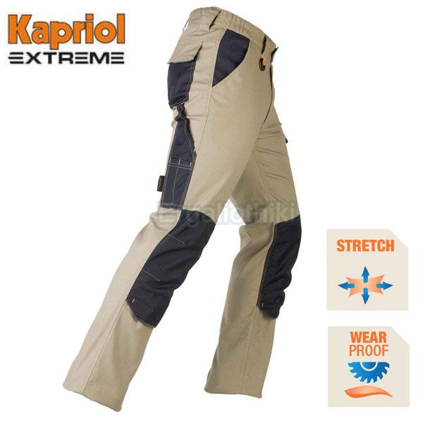 KAPRIOL TENERE PRO Ελαστικό παντελόνι εργασίας μπέζ