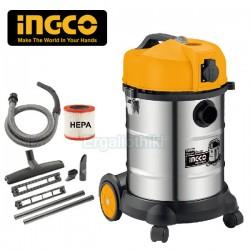 INGCO VC14301 Ηλεκτρική σκούπα υγρών στερεών
