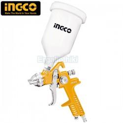 INGCO ASG1061 Πιστόλι βαφής αέρος άνω δοχείο
