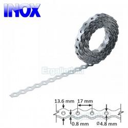 INOX Τσέρκι διάτρητο 12x0.8