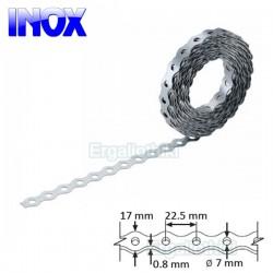 INOX Τσέρκι διάτρητο 17x0.8