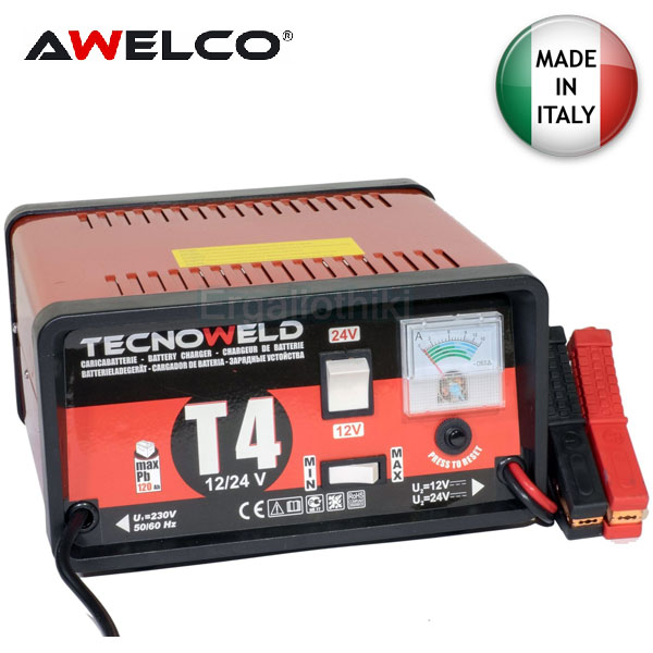 AWELCO TECHNO CHARGER T4 Φορτιστής μπαταριών