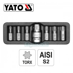 YATO YT-0410 Σειρά μύτες TORX