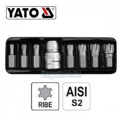 YATO YT-0418 Σειρά μύτες RIBE