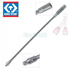 KING TONY 2311-12 Εύκαμπτη προέκταση σπιράλ 30cm για καρυδάκια 1/4