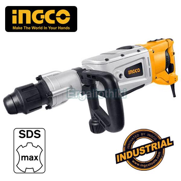 INGCO RH17001 Κρουστικό - περιστροφικό πιστολέτο SDS-Max