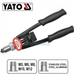 YATO YT-36119 Πριτσιναδόρος για πριτσίνια με σπείρωμα