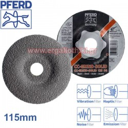 PFERD CC GRIND SOLID Φ115mm Δίσκος λειάνσεως μετάλλων